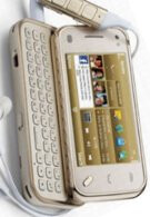 Nokia N97 mini Gold Edition shows off its flashy & expensive exterior