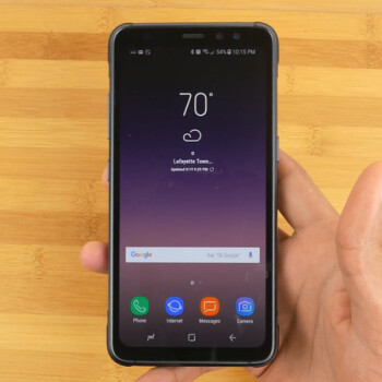 Samsung Galaxy S8 Active unboxing and first look