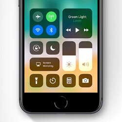 The iOS 11 Control Center disconnects Wi-Fi or Bluetooth, but doesn't turn them off
