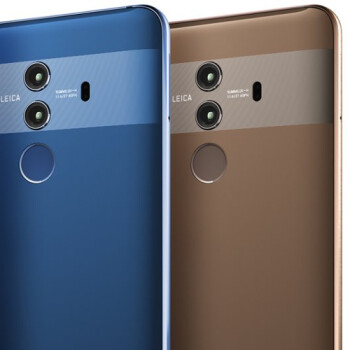 First Huawei Mate 10 Pro photos show off its glass back and tall display in action