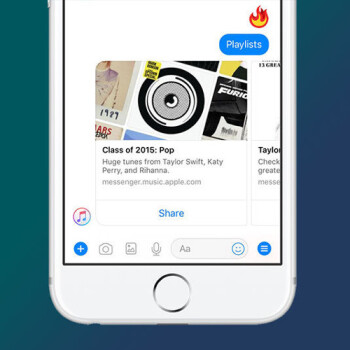 Facebook Messenger gets Apple Music integration, check out all the new features