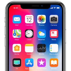 New photos of Apple iPhone X surface