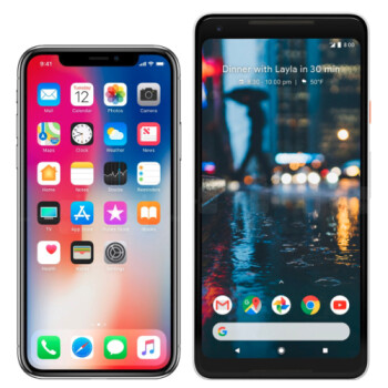 Which phone do you like more: iPhone X or Pixel 2 XL?