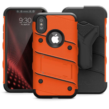 The Zizo Bolt case will wrap your iPhone X in a military-grade drop protection