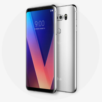 LG V30 battery life score is out: big improvements!