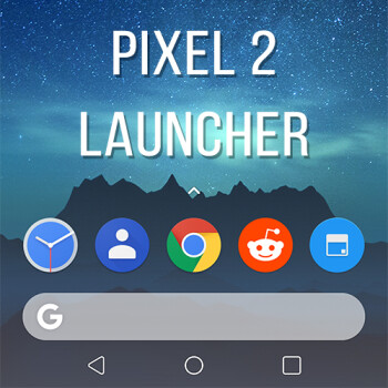 You can now install the Pixel 2 launcher with docked search bar on your Android phone