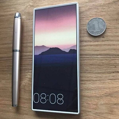 A true edge-to-edge screen: a new prototype phone shows what the future could look like