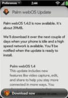 Sprint Palm Pre owners get webOS 1.4 update