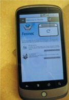 Nexus One & Motorola DROID spotted running Mozilla Fennec