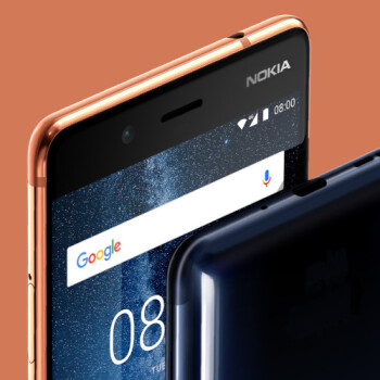 Nokia 8 unboxing and first look