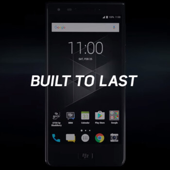 New BlackBerry Motion video promises