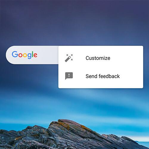 Google App erhält ein anpassbares Suchleisten-Widget im neuesten Update