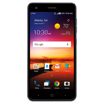 The entry-level ZTE Blade X launched at Cricket Wireless for $120
