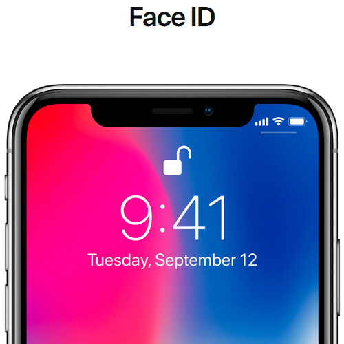 The iPhone X has no fingerprint scanner (Touch ID) at all  How do