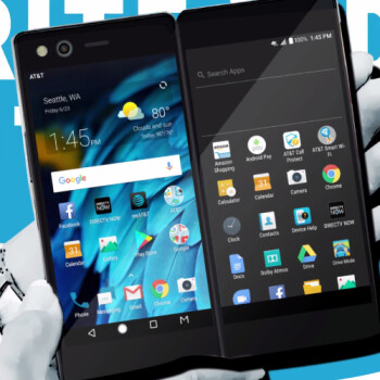 AT&T's dual-screen ZTE Axon M launches on November 1