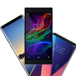 Razer Phone vs Galaxy Note 8 vs LG V30: specs comparison