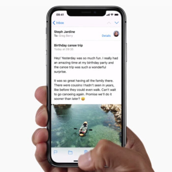 Results: the iPhone X – no longer simple and straightforward