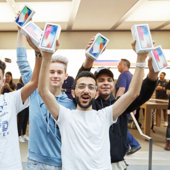 You can buy iPhone X in stores starting at 8:00am local time today