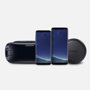 Samsung offers a free Gear VR or DeX Station with any Galaxy S8 or Note 8 purchase