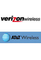 Verizon and AT&T report growth for the fourth quarter