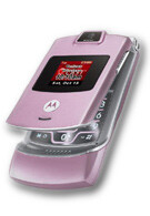 Verizon offers pink version of the RAZR - Motorola V3c Pink