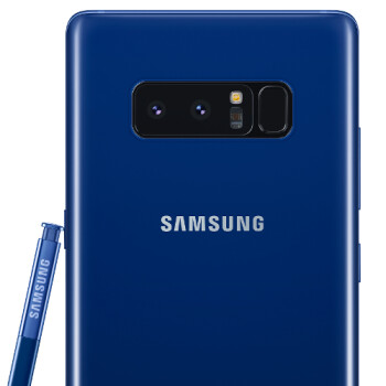 Deepsea Blue Samsung Galaxy Note 8 arrives in the US this month