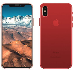 Results: that iPhone X? Paint it red!