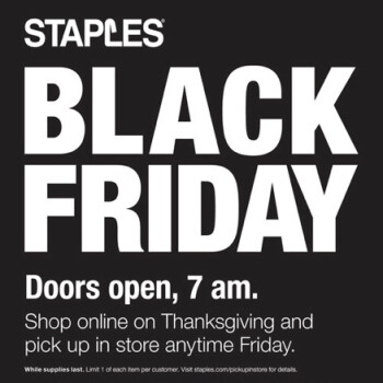 Staples Black Friday deals: Amazon Echo, Google Home and tablets on sale