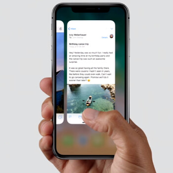 The reason for those smooth iPhone X gestures? 120Hz touch input sampling