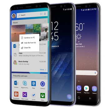 Microsoft starts selling Samsung's Galaxy S8 and S8+ online