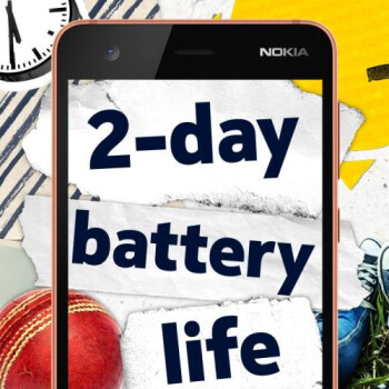 The Nokia 2 (for AT&T and T-Mobile) is launching soon in the US, large battery included