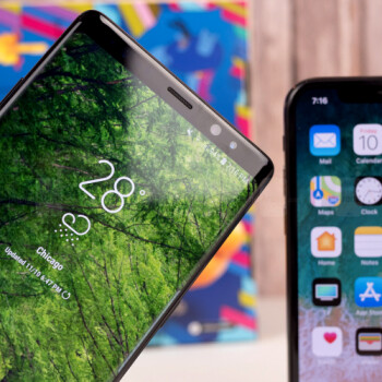 Note 8 vs iPhone X download speeds test shows how Gigabit LTE matters