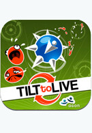 Tilt to Live for the iPhone test