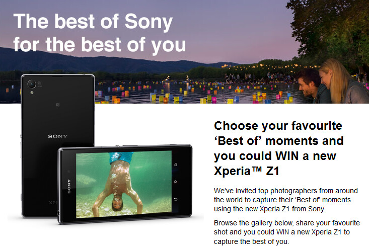 Win a free Sony Xperia Z1 from Sony - Last chance to win a free Sony Xperia Z1 from Sony