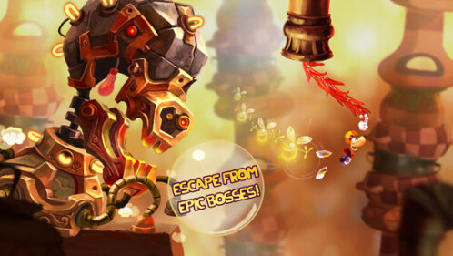 'Rayman Fiesta Run' now out on iOS, coming to Android today