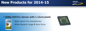 Samsung confirms a 16 MP ISOCELL camera sensor is on tap for future flagships