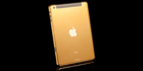 Gold iPad mini Retina