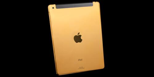 Gold iPad Air