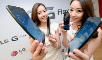 The LG G Flex will launch on November 12th in Korea