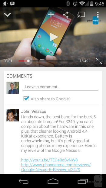 Google+ comments already added to YouTube app; YouTube creator hates it