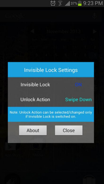 Tired of your Android lock screen? Try Invisible Lock