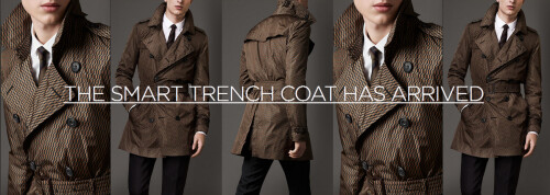 The Motiif smart trench coat