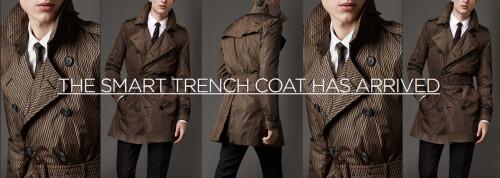 The Motiif smart trench coat