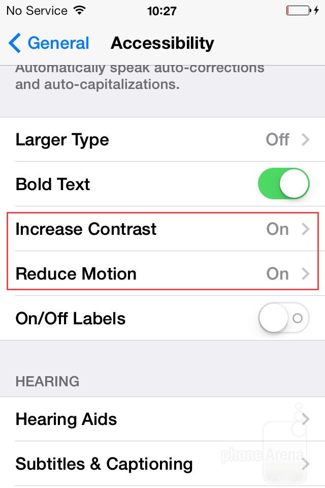 How to improve performance of iPhone 4, 4s, iPad 2 and iPad mini with iOS 7