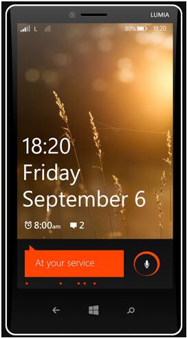 Alleged render of Nokia Lumia 1820