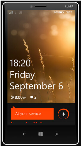 Alleged render of Nokia Lumia 1820 - MWC 2014 to see camera-centric Nokia Lumia 1820 smartphone and Nokia Lumia 2020 tablet?