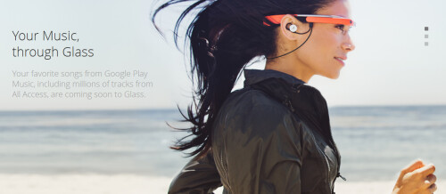 Google Glass Music is introduced