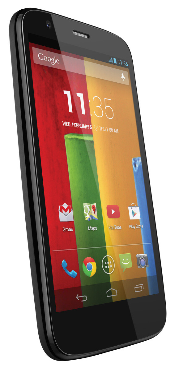 The Motorola Moto G - Motorola Moto G now official: a low-priced Android smartphone that is actually good