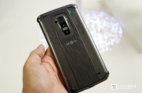 LG G Flex launch details the curved phone's unique features