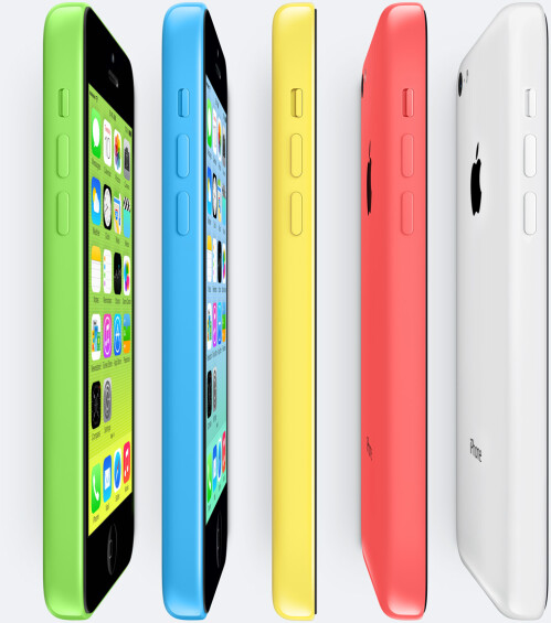 Apple iPhone 5c - $45 + $75 gift card (Wal-Mart), $48 (Best Buy)